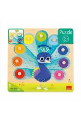 Puzzle Pavo Real Goula 453060