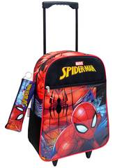 Sac à Dos Trolley Spiderman avec Trousse Toybags 56543