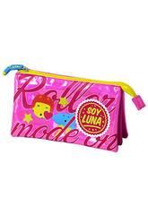 Portatodo Triple Soy Luna Rosa Toybags T157-048
