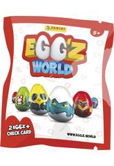 Egg´Z World busta con 2 Egg´Z Panini 3826B2E