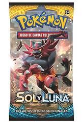Pokémon Juego de Cartas Coleccionables Sol y Luna Sobre 10 Cartas Asmodee POSMSL02