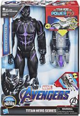Avengers Figurine Black Panther 30 cm. avec Canon Power FX Hasbro E3306