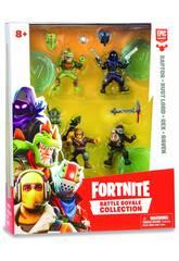 Fortnite Blister 4 Figure 5 cm. Personaggi Edizione Limitata Giochi Preziosi FRT14000