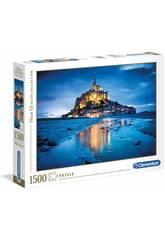 Puzzle 1500 Le Mont Saint Michel Clementoni 31994