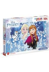 Puzzle 104 Frozen Glitter Clementoni 20153