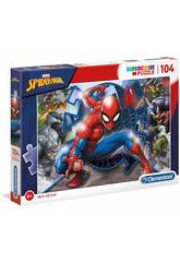 Puzzle 104 Spiderman Clementoni 27116