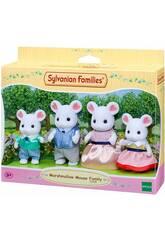Sylvanian Families Family Mouse Marshmallow Figuren von Epoch 5308