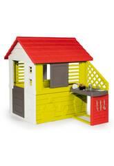 Casa Nature con Cocina Smoby 810713