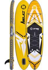 Planche de Padelsurf Gonflable Zray X-Rider 9'9 297x76 cm. Poolstar PB-ZX1C