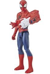Spiderman 30 cm. Con Cannone Power FX Hasbro E3552
