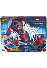 Spiderman Nerf Web Shots Armbrust Hasbro E3559