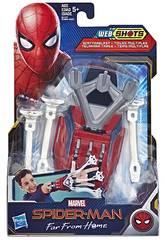 Spiderman Blaster Lanza Redes Hasbro E3566