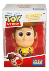 Toy Story Puzzle Palz Figura Woody 9 cm. Valuvic DTS-6758-1