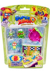 Superzings Blister 5 Figuras Series 3 Magic Box Toys PSZ3B516IN00