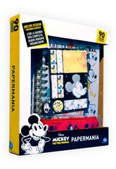 Agenda Mickey Mouse 90 Aniversário Papermania com Acessórios Cife 41349