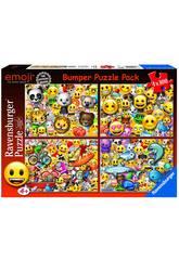 Puzzle Emoji 4x100 Peças Ravensburger 6967