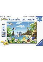 Puzzle XXL Pokémon 200 Piezas Ravensburger 12840