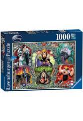 Puzzle Las Villanas Disney 1.000 Piezas Ravensburger 19252