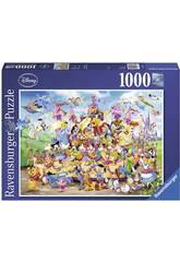Puzzle Disney Carnaval 1.000 Piezas Ravensburger 19383