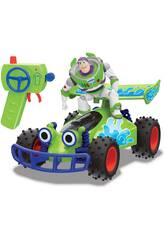 Radiocomando 1:24 Toy Story 4 Turbo Buggy con Buzz Simba 3154000