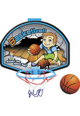 Panier de Basket 36 x 27 cm avec Ballon 10 cm.