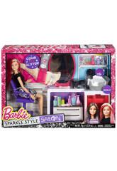 Barbie Coiffeuse Paillettes Magiques
