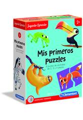 Puzzles Forma De Animales Clementoni 55313