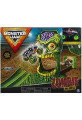 Monster Jam Playset Acrobazie Zombie Madness Bizak 61925873