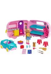 Barbie Caravan von Chelsea Mattel FXG90