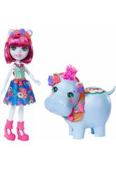 Enchantimals Boneca Hedda Hippo Mattel GFN56