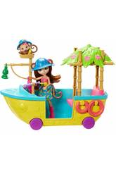 Enchantimals Barco De La Selva Mágica Mattel GFN58