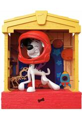 101 Dalmata Casa Con Figura Mattel GBM26