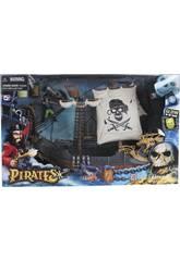 Bateau pirate avec des Figurines et des Accessoires