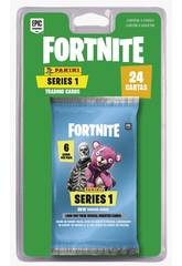 Fortnite Bustina 4 Figurine Trading Cards Serie 1 Panini 201012BLIE