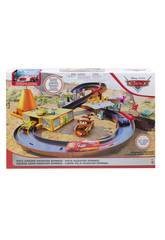 Cars Supercircuito Carreras en Radiator Springs Mattel GGL47