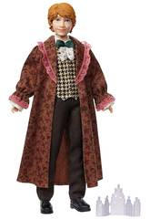 Harry Potter Pupazzo Ron Weasley Ballo di Natale Mattel GFG15