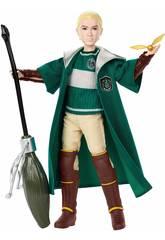 Harry Potter Bambola Draco Malfoy Quidditch Mattel GDJ71