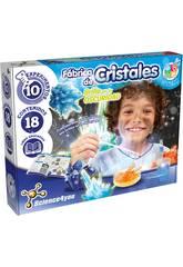 Fábrica de Cristales Brilla en la Oscuridad Science4you 60868