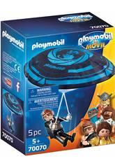 Playmobil The Movie Rex Dasher en Parachute 70070