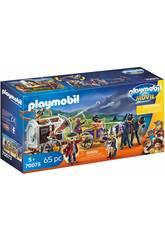 Playmobil The Movie Charle con Carrozza Prigione 70073