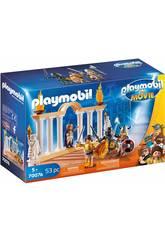 Playmobil The Movie Emperador Maximus en el Coliseo 70076