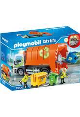 Playmobil Vehículos Ciudad Camión de Reciclaje 70200