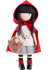 Poupée 32 cm. Gorjuss De Santoro Little Red Riding Hood Paola Reina 4917