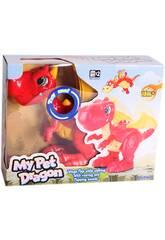 Dinosauro Drago Per Bambini con Suoni Keenway 13639