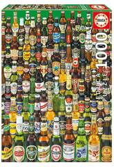 Puzzle 1.000 Cervezas del Mundo Educa 12736