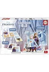 Frozen 2 Superpack 4 en 1 Educa 18378