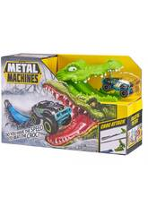 Metal Machines Croc Attack com Veículo de Metal Zuru 11008023