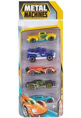Metal Machines Pack 5 Coches de Metal Zuru 11007541
