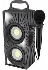 Mini Tour Sonore Noire Bluetooth avec Microphone Lexibook BTP155BKZ