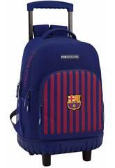 Zaino con Carrello Compact F.C. Barcelona Safta 611829818
